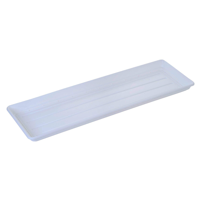 Ebertsankey Universal virágláda-alátét 80 cm fehér vásárolni - OBI