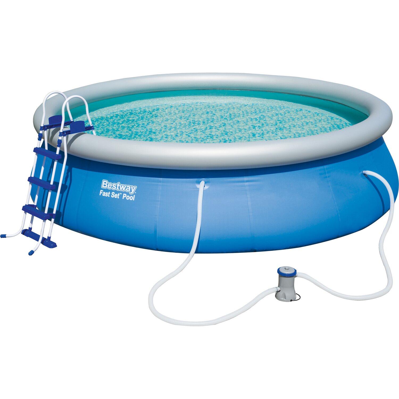 Medenceszett fast pool v s rolni obi for Kescher pool obi
