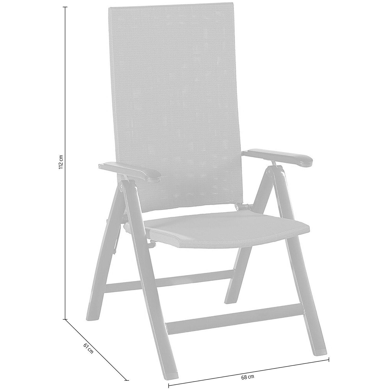 OBI Pacora állítható háttámlájú szék