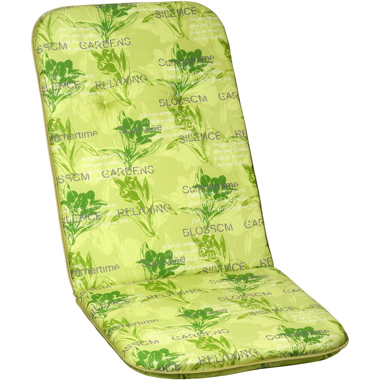 Borkum párna magastámlás székhez zöld virágos vásárolni - OBI fc3bab4aa0