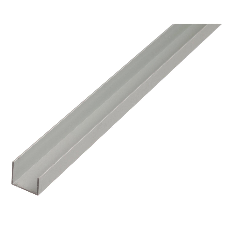 U-idom eloxált 20 mm x 22 mm x 1000 mm ezüst vásárlása az ...