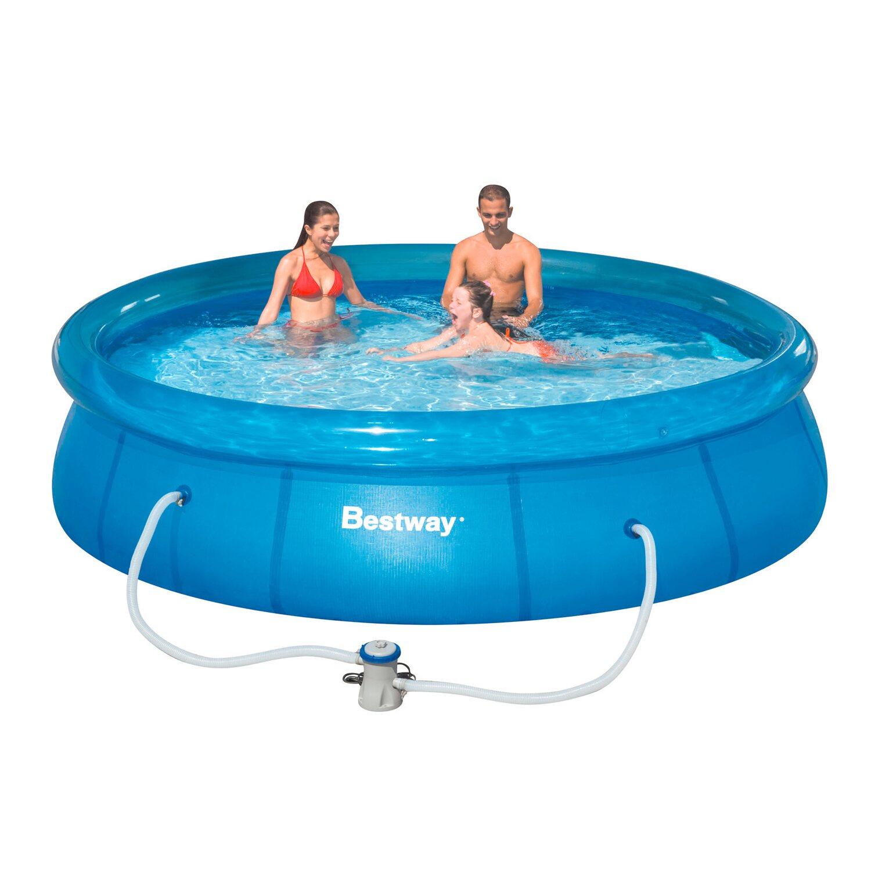 Bestway Medencek Szlet Fast Pool 366 Cm X 76 Cm V S Rolni