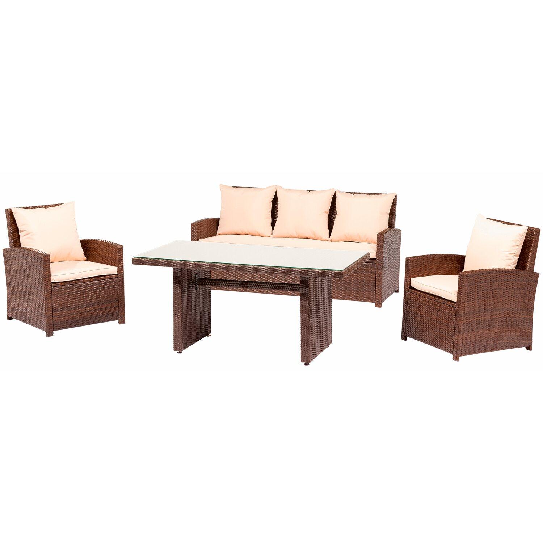 CMI Lounge étkezőgarnitúra, 4 részes vásárolni - OBI