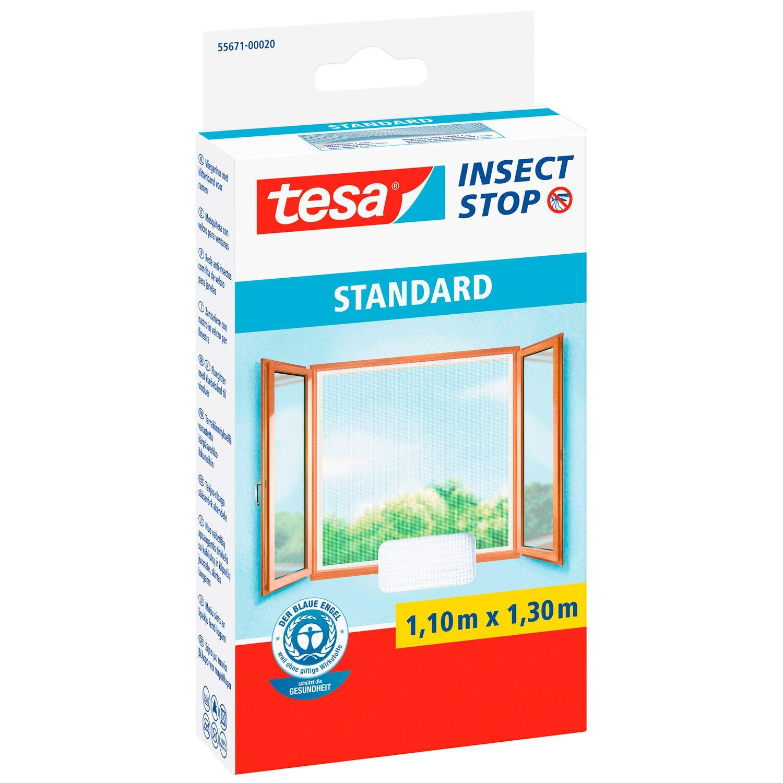 tesa Standard szúnyogháló ablakra tépőzáras fehér 11 m x 13 m ... a90358a49d