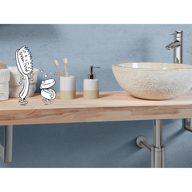 Ráültethető mosdó szekrény
