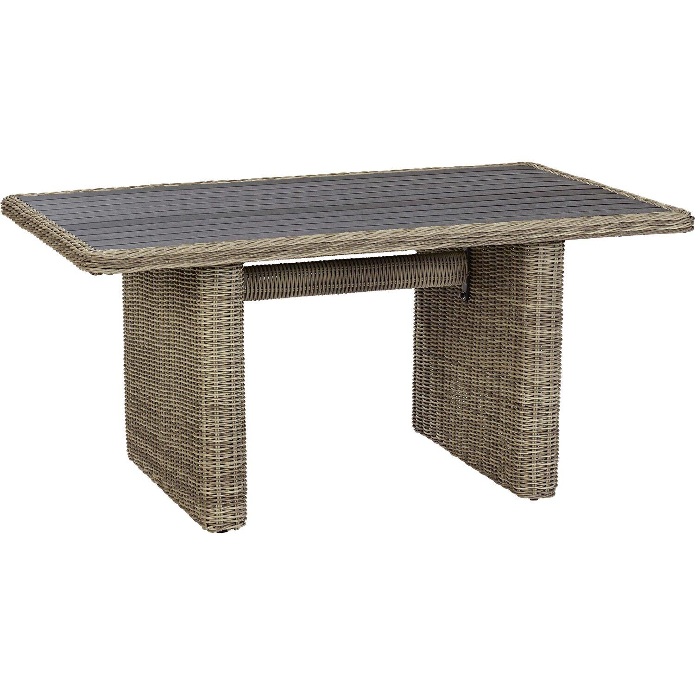 OBI Oakdale alumínium fonott étkezőasztal garnitúra 4 részes ...