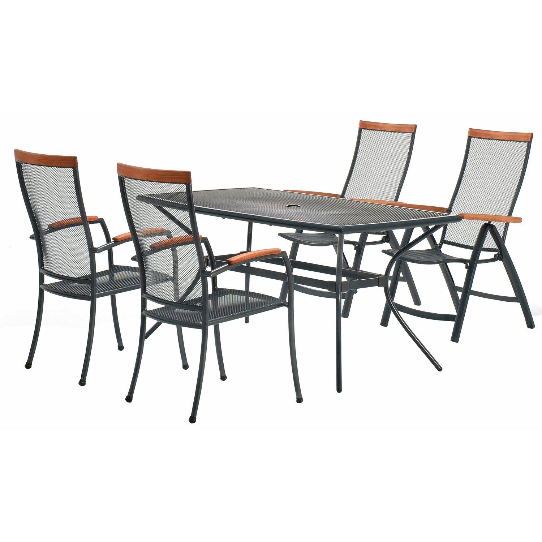 OBI Amarillo kerti asztal, 150 x 90 cm