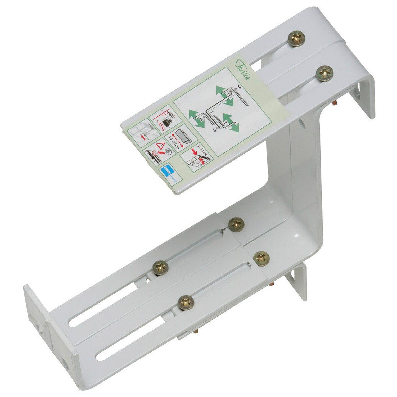 OBI balkonládatartó, extra erős, fehér, 3 irányban állítható vásárolni - OBI