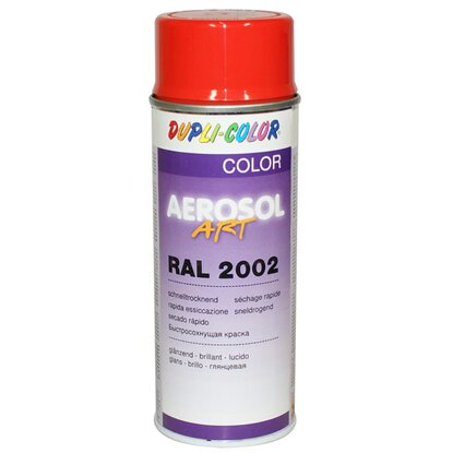 Dupli-Color festékspray Aerosol Art akril fényes vérnarancs RAL2002 400 ml
