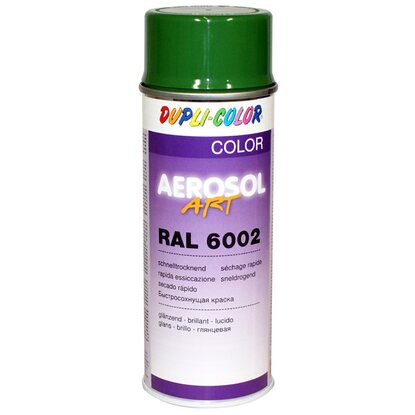 Dupli-Color festékspray Aerosol Art akril fényes levélzöld RAL6002 400 ml