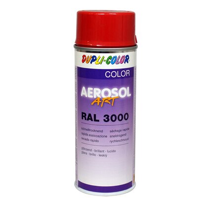 Dupli-Color festékspray Aerosol Art akril fényes tűzpiros RAL3000 400 ml
