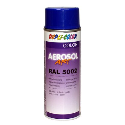 Dupli-Color festékspray Aerosol Art akril fényes ultramarinkék RAL5002 400 ml