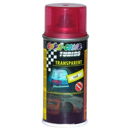 Dupli-Color lámpafesték Tuning transparent piros 150 ml