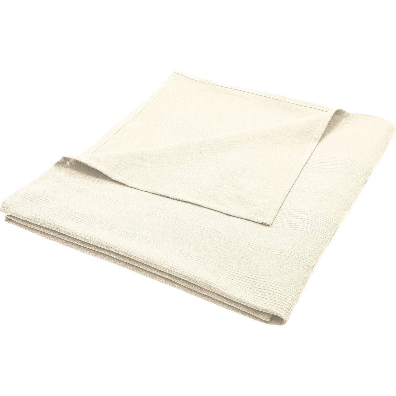 Pamut pléd 150 cm x 250 cm fehér vásárolni - OBI 5960eba5ff