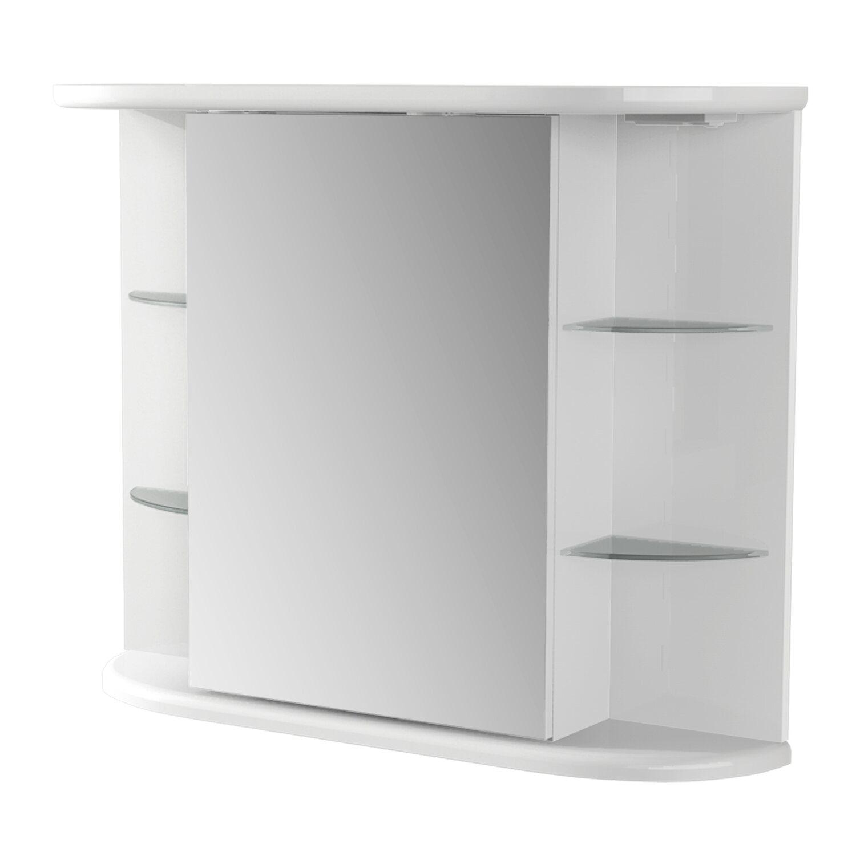 Fürdőszobaszekrény Solaris tükrös vásárolni - OBI