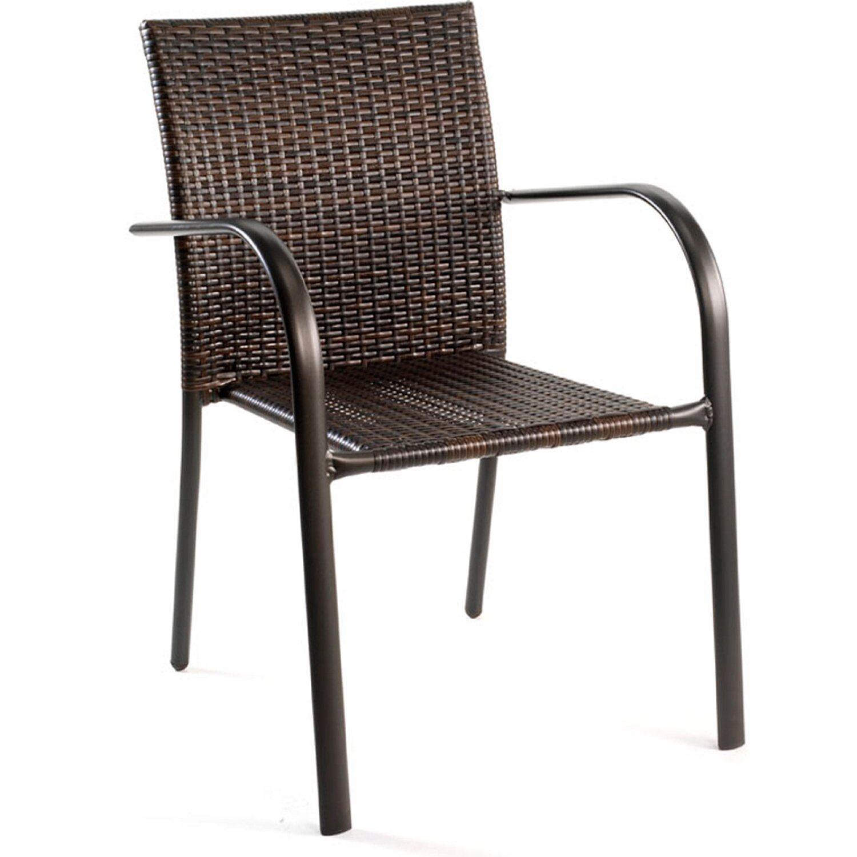 fém fonott vinyl kerti szék