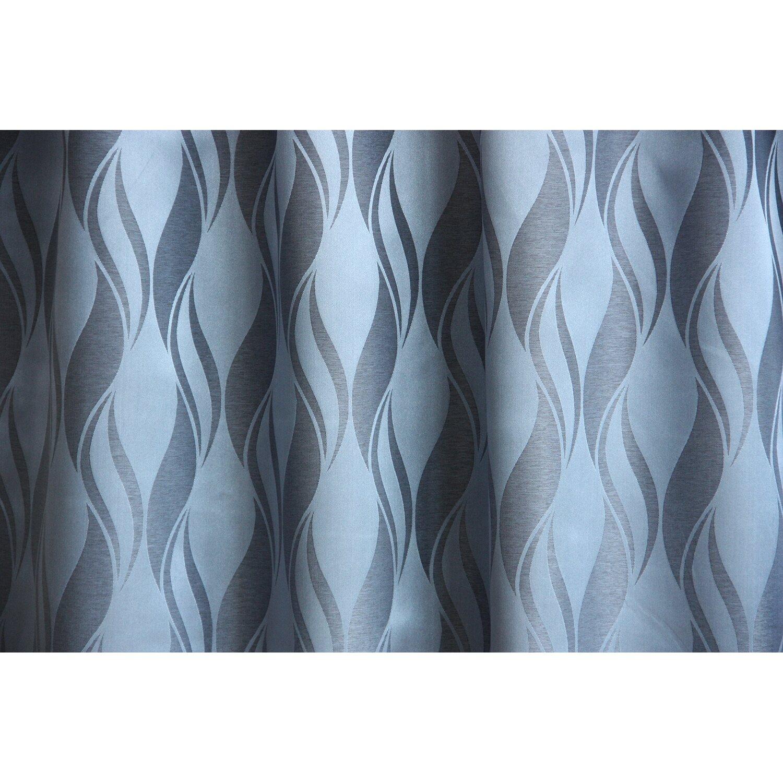 Dekor függöny PRIS 08 kék 140 cm széles méteráru vásárolni - OBI 701724be75