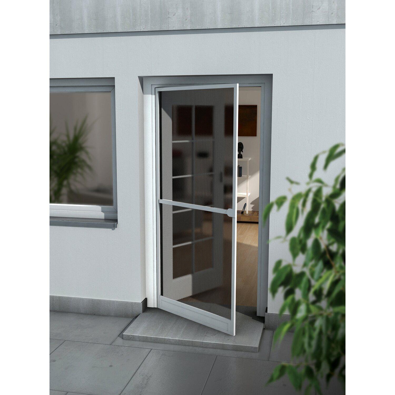 62ef324a3436 OBI alumínium keretes szúnyogháló, ajtó, 100 cm x 215 cm, fehér ...