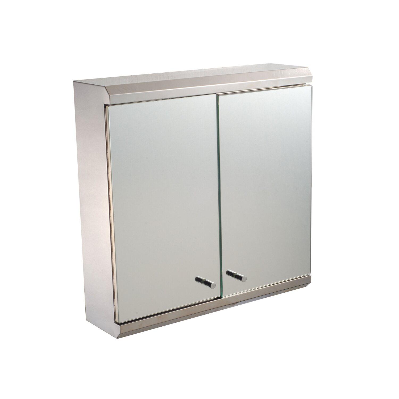 Pipereszekrény 2 ajtós, tükrös vásárolni - OBI