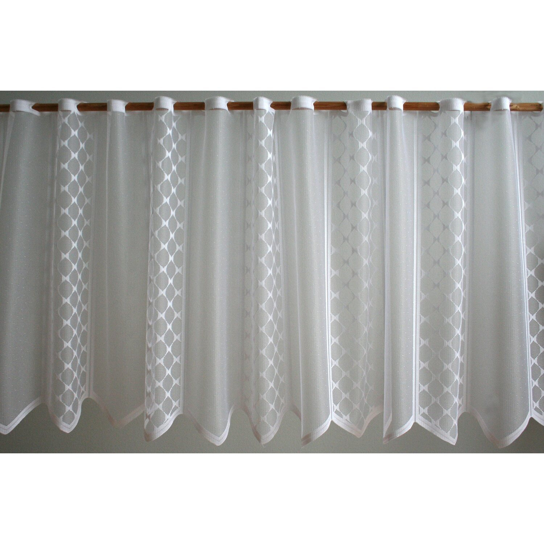 Vitrázs függöny fehér 6086 60 cm magas méteráru vásárolni - OBI 590424153f
