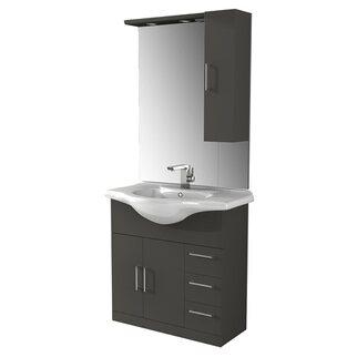 Fürdőszobabútor Play matt szürke vásárolni - OBI