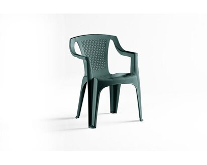 Műanyag szék Luna 56 cm x 52 cm x 77cm zöld