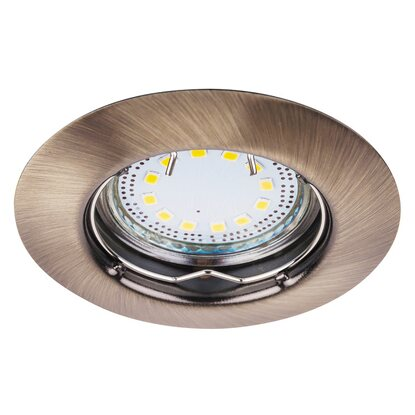 Lite, szpot GU10 3W LED fix, 3-as szett, kerek