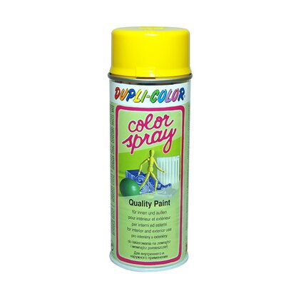 Dupli-Color festékspray Color Spray szintetikus fényes repcesárga RAL1021 400 ml