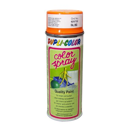 Dupli-Color festékspray Color Spray szintetikus fényes narancspasztell 400 ml