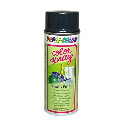 Dupli-Color festékspray Color Spray szintetikus fényes szürkésfekete 400 ml