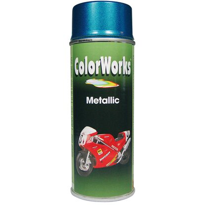 Color Works festékspray akril metálkék 400 ml