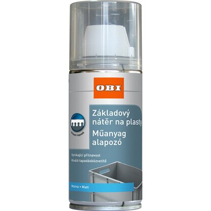 OBI alapozó spray műanyagra matt 150 ml