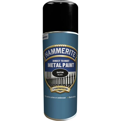 Hammerite Spray fekete 400 ml