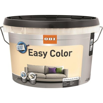 OBI Easy Color beltéri falfesték Silk matt 2,5 l