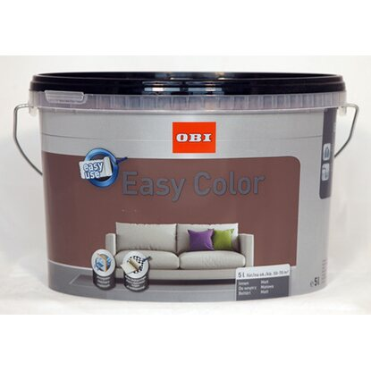 OBI Easy Color beltéri falfesték Toffee matt 5 l