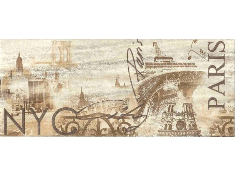 Falicsempe Quarz Paris 25 cm x 60 cm vásárolni - OBI