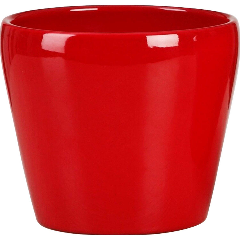 Kaspó kerámia piros 15 cm vásárolni - OBI 267c1d3ec8